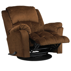 Catnapper Gibson Swivel Glider Recliner in Walnut