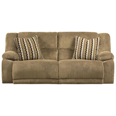 Catnapper Hammond Reclining Sofa in Coffee with Power Option