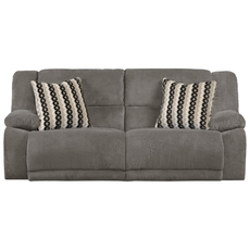 Catnapper Hammond Reclining Sofa in Granite with Power Option
