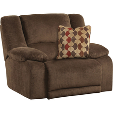 Catnapper Hammond Wall Hugger Recliner in Mocha with Power Option