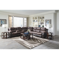 Catnapper Henderson Sectional in Dusk