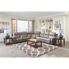 Catnapper Henderson Sectional in Steel
