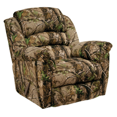 Catnapper High Roller Camouflage Chaise Rocker Recliner in Realtree APG