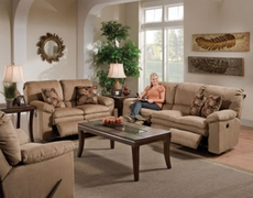 Catnapper Impulse Reclining Sofa in Cafe with Power Option