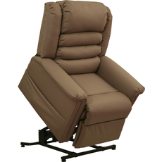 Catnapper Invincible Power Lift Recliner in Cocoa