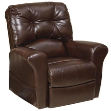 Catnapper Landon Power Lift Lay Flat Recliner in Java