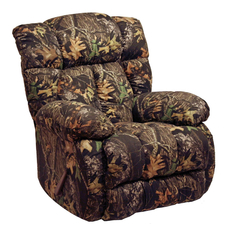 Catnapper Laredo Camouflage Chaise Rocker Recliner