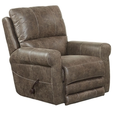 Catnapper Maddie Swivel Glider Recliner in Ash