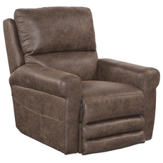 Catnapper Maddie Swivel Glider Recliner in Tanner