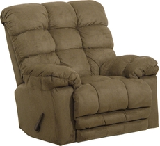 Catnapper Magnum Chaise Rocker Recliner in Sage
