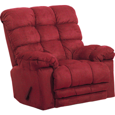 Catnapper Magnum Chaise Rocker Recliner in Merlot