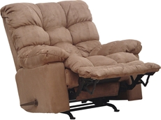 Catnapper Magnum Chaise Rocker Recliner in Saddle