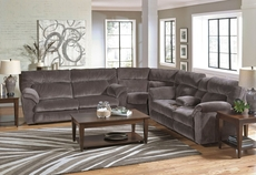 Catnapper Nichols Power Reclining Sectional in Granite