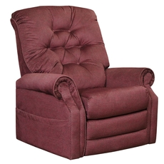 Catnapper Patriot Power Lift Recliner in Vino