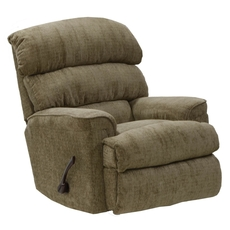Catnapper Pearson Chaise Rocker Recliner in Mocha