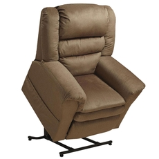 Catnapper Preston Power Lift Recliner in Mocha with Pillowtop