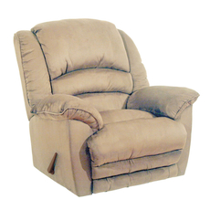 Catnapper Revolver Chaise Rocker Recliner in Hazelnut