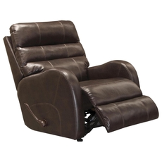 Catnapper Searcy Rocker Recliner in Coffee