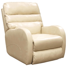 Catnapper Searcy Rocker Recliner in Parchment