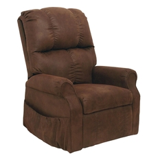 Catnapper Somerset Power Lift Lounger Recliner in Mahogany