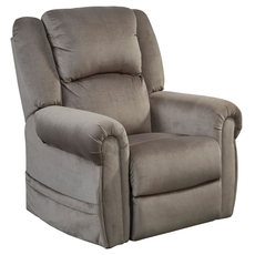 Catnapper Spencer Lay Flat Pow'r Lift Recliner with Power Headrest in Pewter