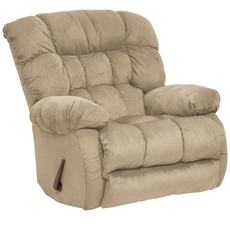 Catnapper Teddy Bear Chaise Rocker Recliner in Hazelnut