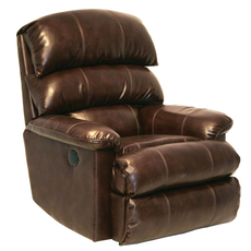 Catnapper Templeton Inch Away Wall Hugger Leather Recliner with Power Option