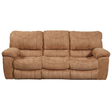 Catnapper Terrance Reclining Sofa in Caramel