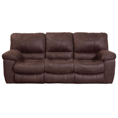 Catnapper Terrance Reclining Sofa in Chocolate
