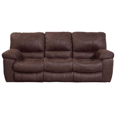 Catnapper Terrance Power Reclining Sofa in Chocolate
