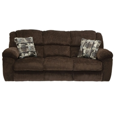 Catnapper Transformer Ultimate Sofa with Drop Down Table in Chocolate