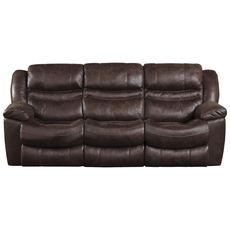 Catnapper Valiant Reclining Sofa in Coffee with Power Option