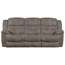 Catnapper Valiant Reclining Sofa in Marble with Drop Down Table and Power Option