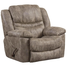 Catnapper Valiant Swivel Glider Recliner in Marble with Power Option