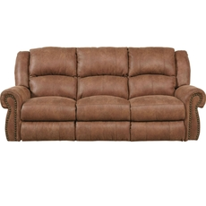 Catnapper Westin Power Reclining Sofa in Nutmeg