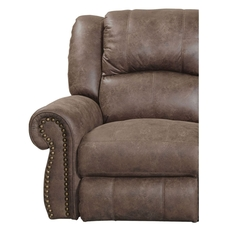 Catnapper Westin Swivel Glider Recliner in Ash