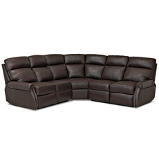 Clearance Comfort Design Jackie II Reclining Sectional