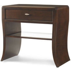 Clearance Century Paragon Club Waterfall Nightstand OVFCR121711