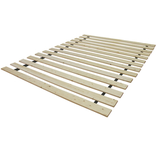 Classic Brands Bunkie Board Bed Support with Attached Heavy Duty Solid Wood Slats