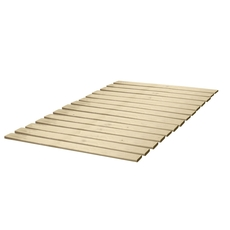 Classic Brands Bunkie Board Bed Support with Attached Solid Wood Slats