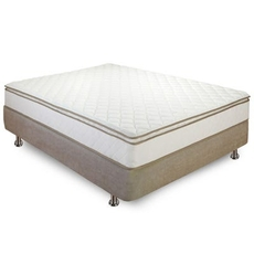 Twin XL Classic Brands Bed in a Box Innerspring 10 Inch Pillowtop Mattress
