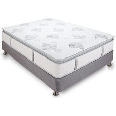 Full Classic Brands Bed in a Box Mercer 12 Inch Hybrid Cool Gel Memory Foam and Innerspring Mattress