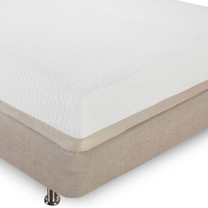 Queen Classic Brands Natural Sleep Eden 11 Inch Plush Latex Foam Mattress
