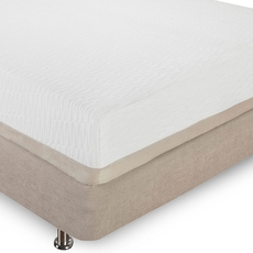 Full Classic Brands Bed in a Box Natural Sleep Eden 11 Inch Plush Latex Foam Mattress