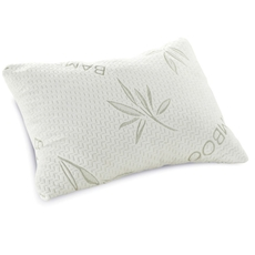 Classic Brands Shredded Queen Size Memory Foam Pillow with Bamboo Rayon Cover
