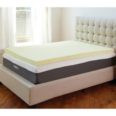 Classic Brands Ventilated Memory Foam 3 Inch Mattress Topper