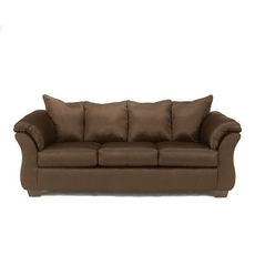 Clearance Ashley Furniture Darcy Stationary Sofa in Cafe OVFB052004