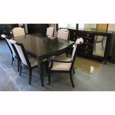 Clearance Bernhardt Sutton House 8 Piece Dining Set OVFCR031816