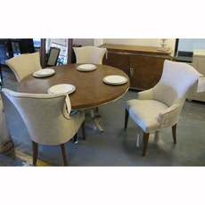 Clearance Bernhardt Soho Luxe 6 Piece Dining Set OVFCR031814