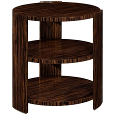 Clearance Jonathan Charles Metropolitan Art Deco Side Table OVFCR031833